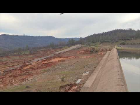 Oroville Spillway February 13, 2017