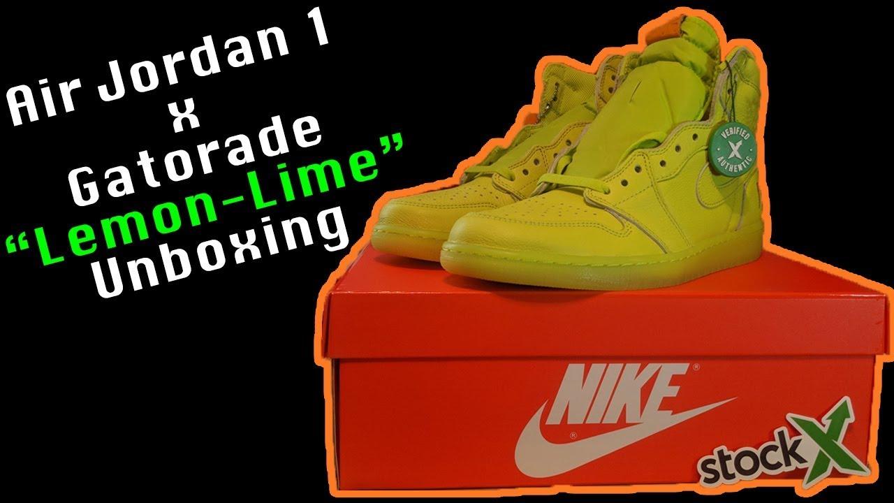 buy online 5bdcb 68394 Air Jordan 1 x Gatorade