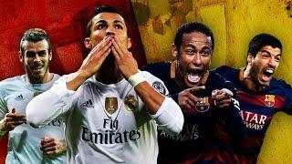 pes 2016 simulation el clasico real madrid vs barcelona ronaldo vs messi neymar vs bale 2016