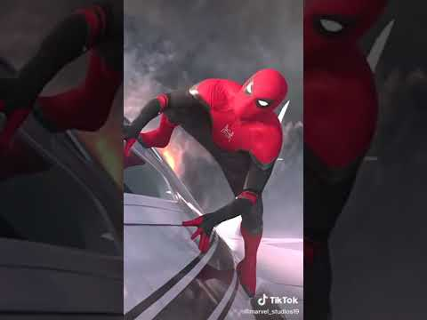 Spiderman | The new Iron Man | The true heir of the Stark Reign | Marvel | Peter Parker MCU #shorts