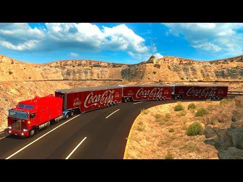 Triple Remolque en La Rumorosa | Kenworth K100 de Tijuana a Mexicali, Baja California