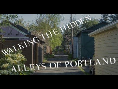 Walking the Hidden Alleys of Portland