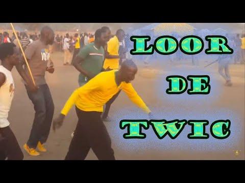 Dinka bor traditional dance in Nimule. loor de twic east