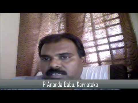 Student Testimonial - P. Anand Babu