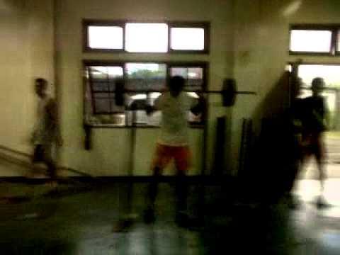 latihan voli (putra Fisik)