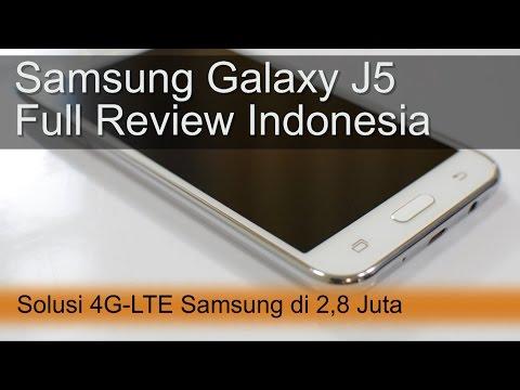 Samsung Galaxy J5 Review Indonesia : 4G Samsung di 2,8 Juta