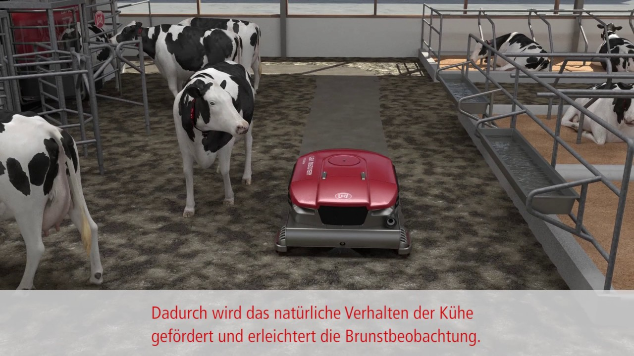 Lely Discovery 120 Collector - animation - DE