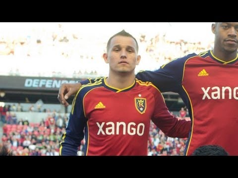 GOAL: Gil's header finds the back of the net   Real Salt Lake vs. Seattle Sounders FC
