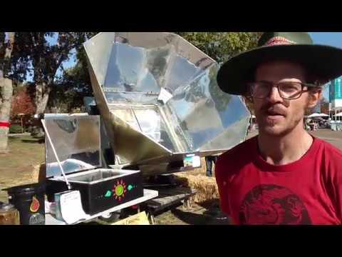 Brennan Blazer Bird and his Solar Oven