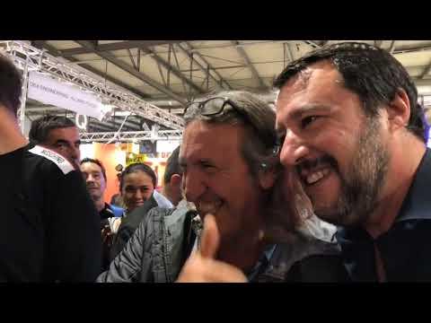 MATTEO SALVINI ALL'EICMA 2018 (10.11.2018)
