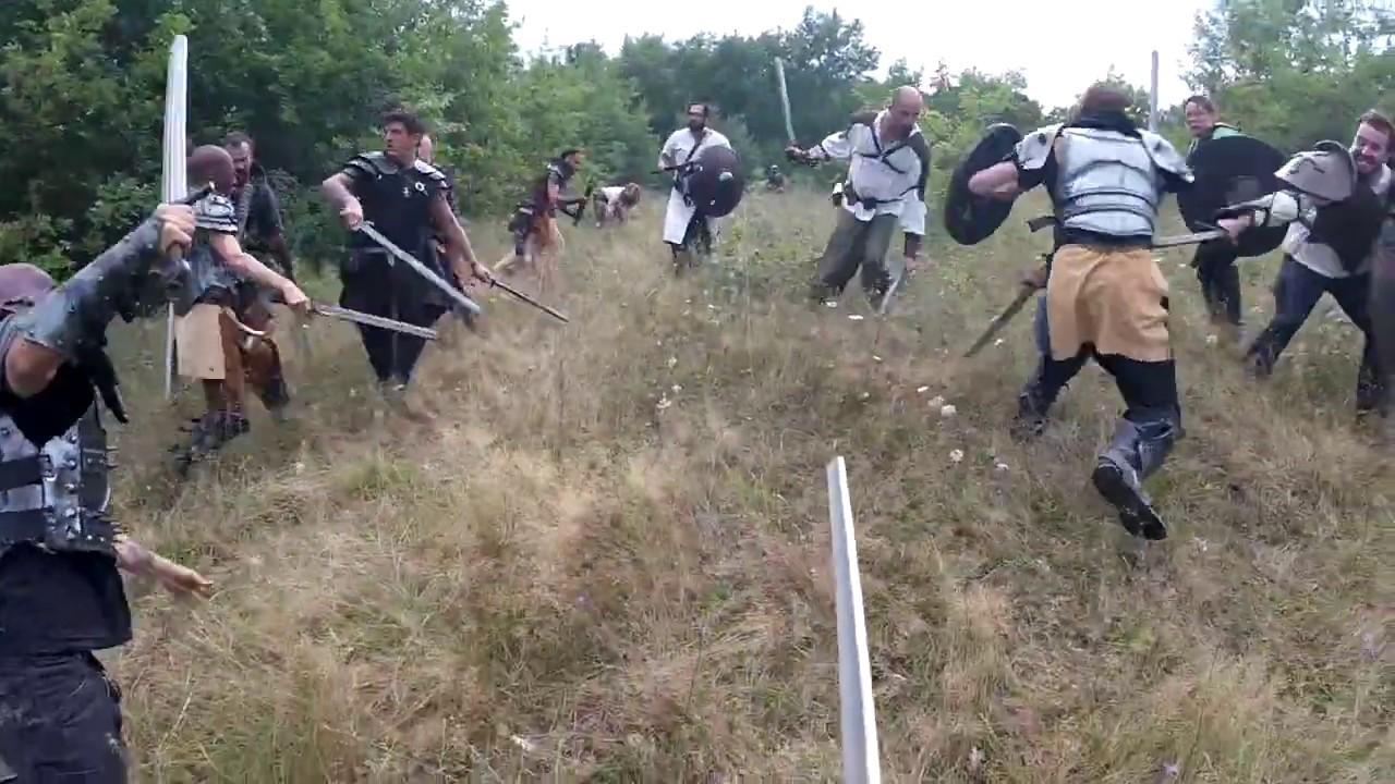 Download GN la Traque du dragon combat, La forge aux légendes