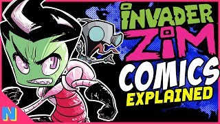 The Invader Zim Comics Explained!