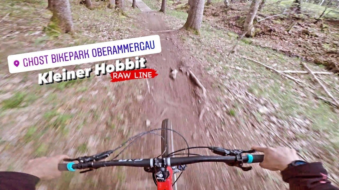 RAW LINE - Kleiner Hobbit ⛰ Ghost Bikepark Oberammergau ☁️ Mai 2021