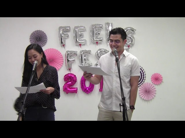 #romanceclass #FeelsFest2018 Live Reading of Feels Like Summer by Six de los Reyes