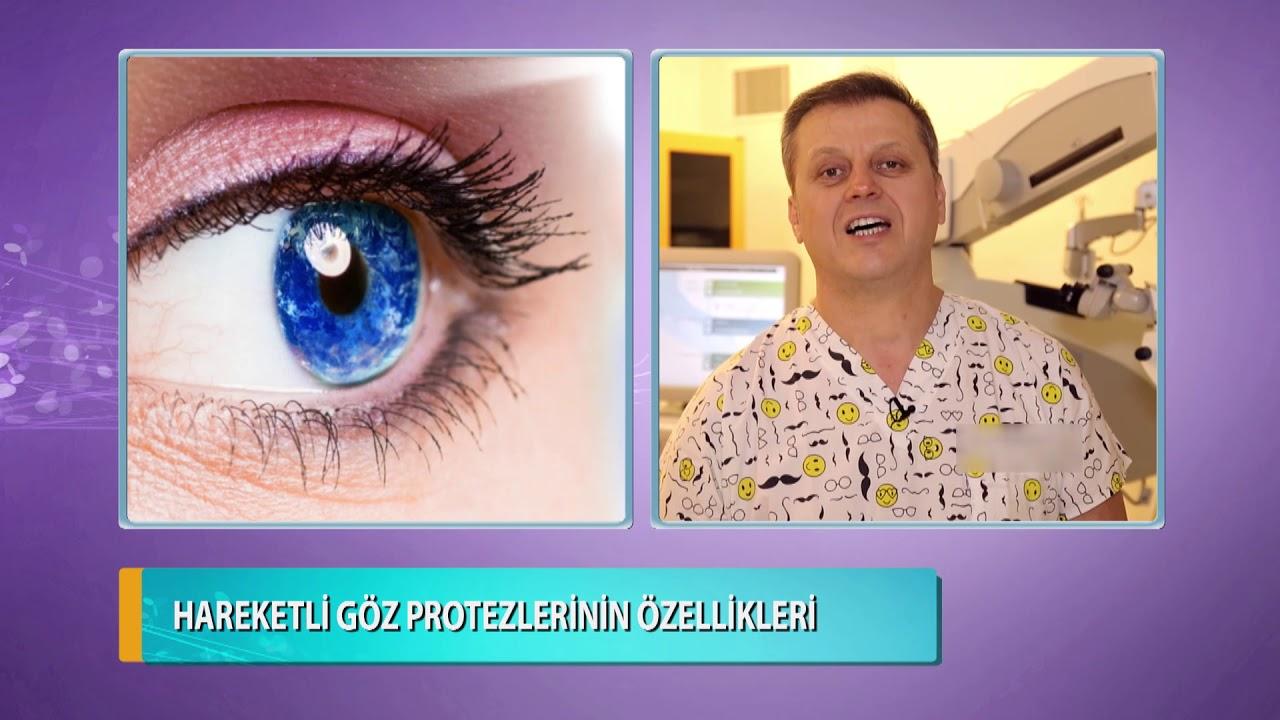 Hareketli Göz Protezlerinin Özellikleri Nelerdir? Doç. Dr. Levent Akçay