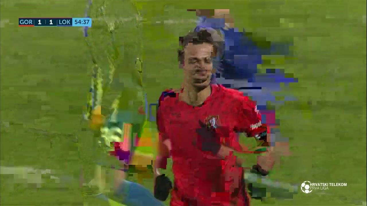 Горица  1-1  Локомотива Загреб видео
