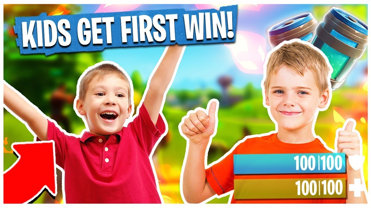 getting little kids their first fortnite win fortnite 5kd player gameplay - Picture Of Little Kids