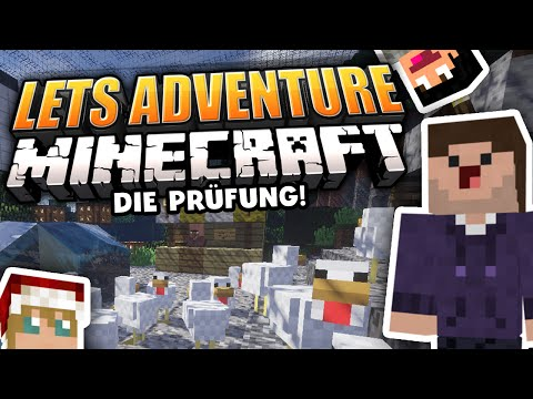 Hühnerjagd im Raumschiff! | Map 8 | 2/3 | Let's Adventure YOUR Minecraft!