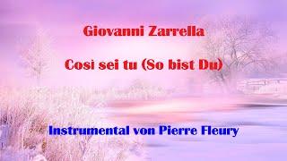 Giovanni Zarrella - Così sei tu (So bist Du) - Instrumental von PIERRE FLEURY
