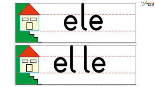 E ve L Sesi Okuma Çalışması