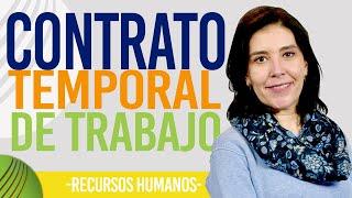 Recursos Humanos |  Contrato Temporal de Trabajo | Software de RRHH Capital Humano