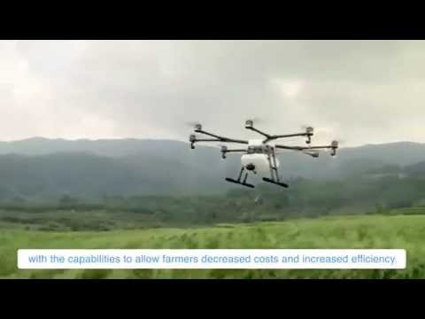 Introducing the DJI GH-1 Agras - Crop Spraying & Aerial Application Drone System