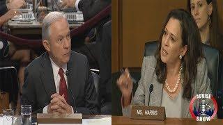 Sen. Kamala Harris Grills Atty. Gen Jeff Sessions Free HD Video