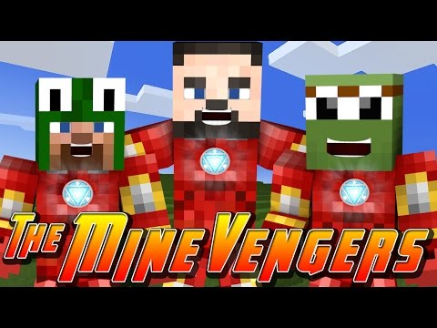 Minecraft MineVengers - DEFENDING MINECRAFT SCHOOL w/ LittleLizard & TinyTurtle