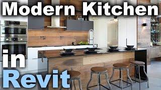 Modern Kitchen In Revit Tutorial