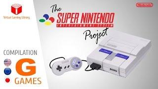 The Super Nintendo/Super Famicom Project - Compilation G - All SNES/SFC Games (US/EU/JP)