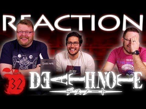 "Death Note Episode 32 REACTION!! ""Selection"""
