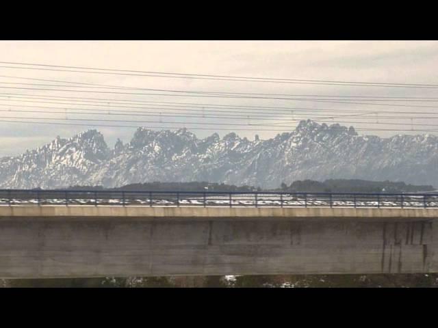 Neu a Montserrat i al Penedès  Febrer 2015  Part 1