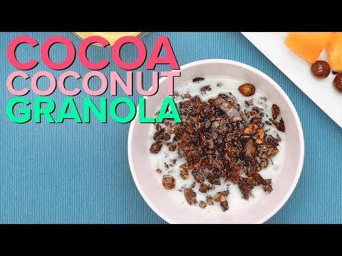 Cacao Espresso Almond Granola