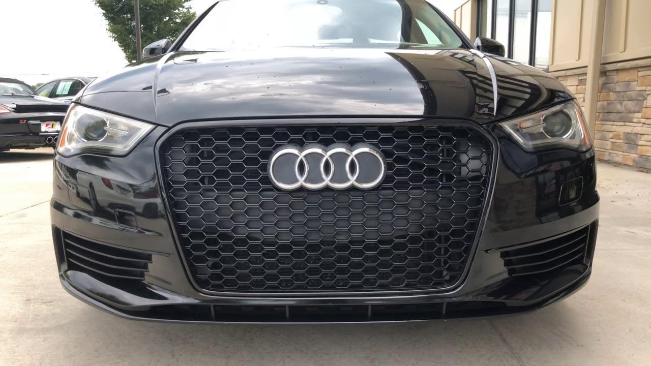 2015 Audi A3 TDI Premium w/NAV Brilliant Black - YouTube