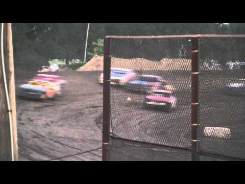 Kankakee County Speedway (8/19/11) UMP Street Stock Heat #3