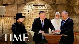 Mike Pompeo Visits Church Of The Holy Sepulchre | TIME