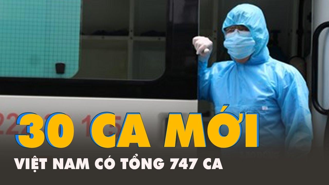 Thêm 30 ca nhiễm COVID-19, trong đó Đà Nẵng có 20 ca.