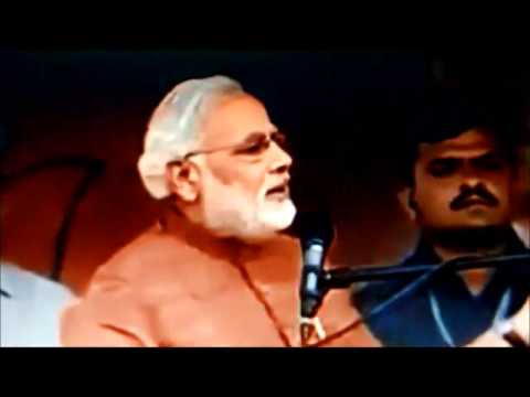 Narendra Modi's Latest speech on Salman Khurshid's Pak Biryani Protocol in Jaipur