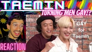 Every Man Being Whipped and Turning GAY FOR TAEMIN   REACTION