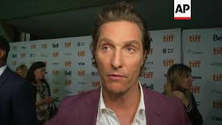 On TIFF red carpet, Matthew McConaughey sees 'White Boy Rick' as more family struggle than criminal