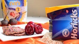 Horlicks Oats Beetroot Roti