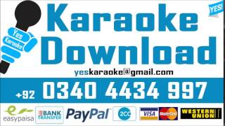 Yaad to aati hogi   Sajjad Ali   Pakistani Karaoke Mp3
