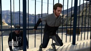 【実況プレイ】 GTA5 笑顔で高所から飛び降り自殺する変質者www GTAV thumbnail
