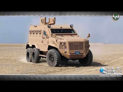 IAG Presents New RILA And Guardian Xtreme MRAP Vehicles At DSEI 2017 Defense Exhibition In London UK