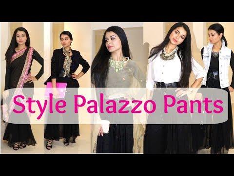 How To Style Palazzo | Glamorous | Ethnic & Indo-Western Looks