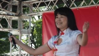 游美媛 『まつり(北島三郎)』 日本台湾祭り2017 in 上野恩賜公園 2017.07.07