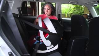 How to Install a Car Seat Without Its Base (European Style)