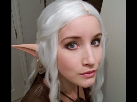 Long elf ears cosplay