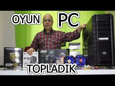 Evde Oyun Bilgisayarı Topladık