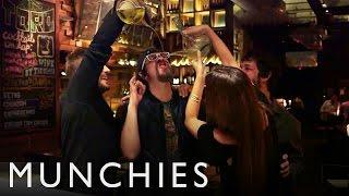 Paella, Champagne Sabering & Stuntman Shots: Chef